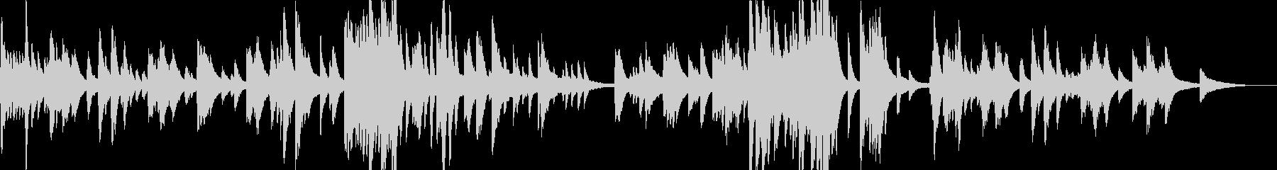 KANT寂しげな夏のバラード612の未再生の波形