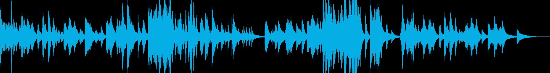 KANT寂しげな夏のバラード612の再生済みの波形