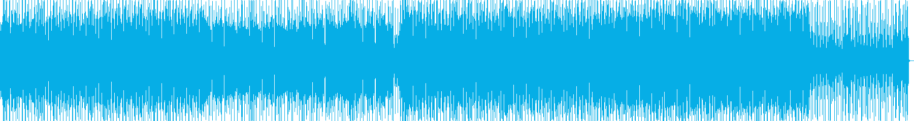 Simple, fashionable, electro BGM's reproduced waveform
