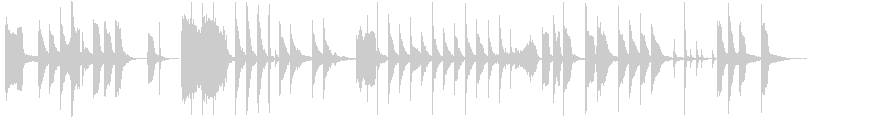 ライトでポップ!トレンドCM系サウンドの未再生の波形