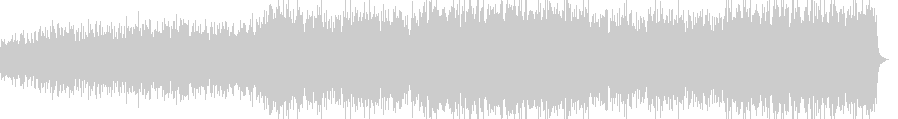 Mixed chorus / space / disco / minor melody's unreproduced waveform