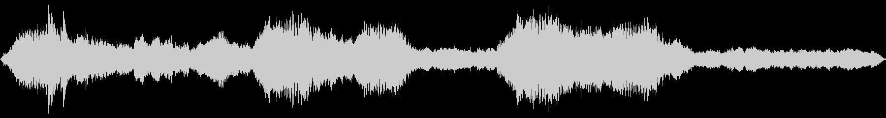 アジアン調、切なくドラマチックなBGMの未再生の波形