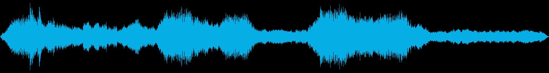 アジアン調、切なくドラマチックなBGMの再生済みの波形