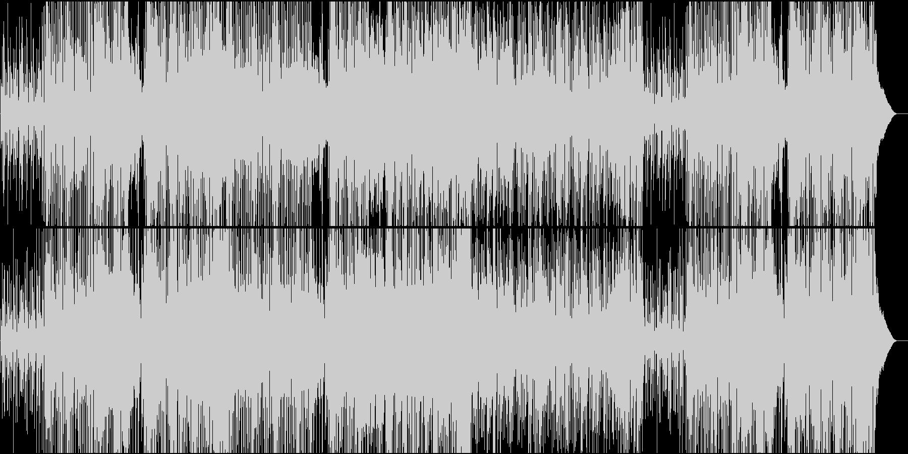 スムースとオーソドックスジャズが楽しめるの未再生の波形