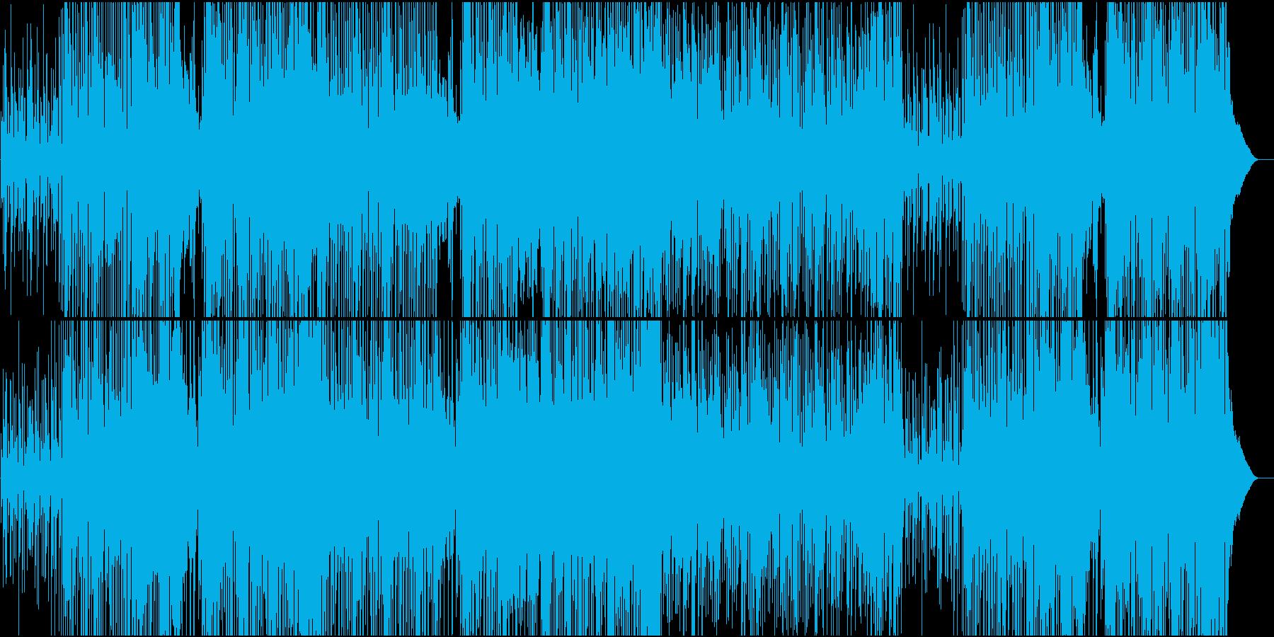 スムースとオーソドックスジャズが楽しめるの再生済みの波形