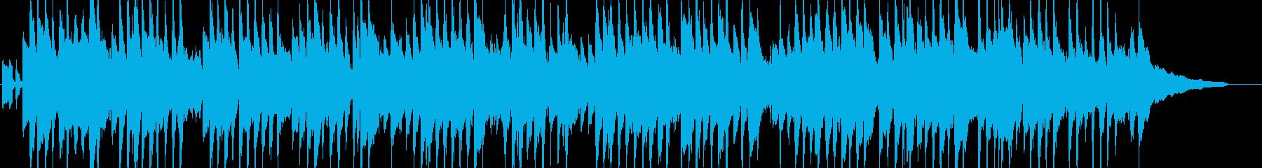 アコギとハーモニカの田舎風のんびりBGMの再生済みの波形