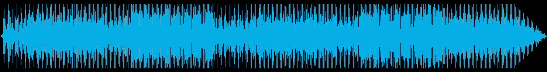エキゾチックな雰囲気が漂うインスト曲の再生済みの波形