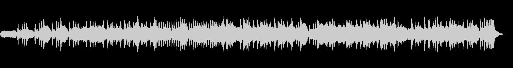 ★シンセサイザーとピアノの神秘的BGMの未再生の波形
