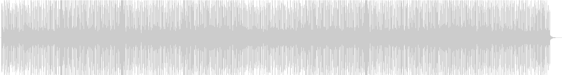 エモーショナルなトロピカルハウスの未再生の波形