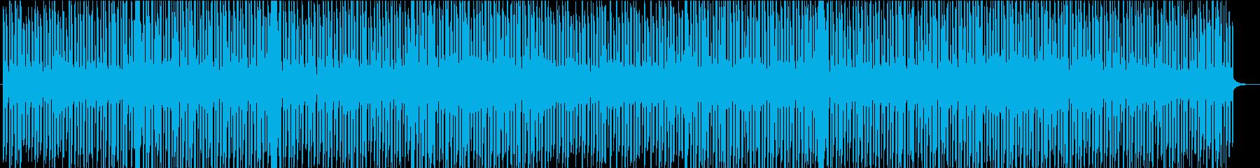 エモーショナルなトロピカルハウスの再生済みの波形