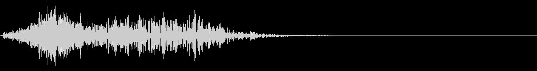 シューッという音EC07_85_3の未再生の波形