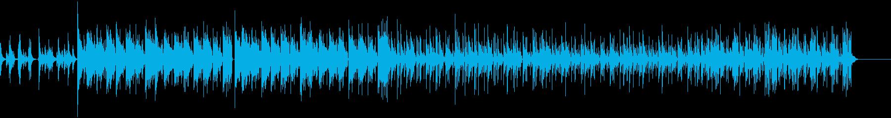 【LoFi Hiphop】深夜 チルの再生済みの波形