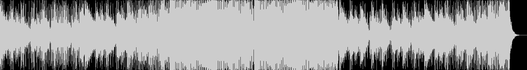 ギターが目立つジャングル/ドラムンベースの未再生の波形