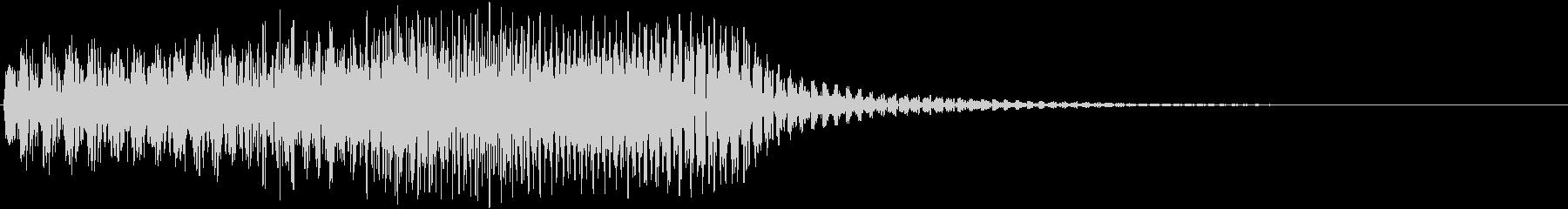 音楽効果;スライド式シンセサイザー...の未再生の波形
