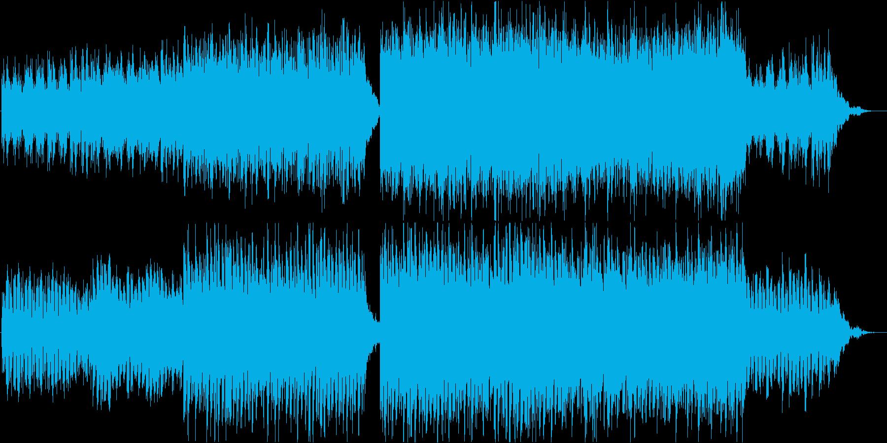 ドラムなしVer.優しく始まり壮大にの再生済みの波形