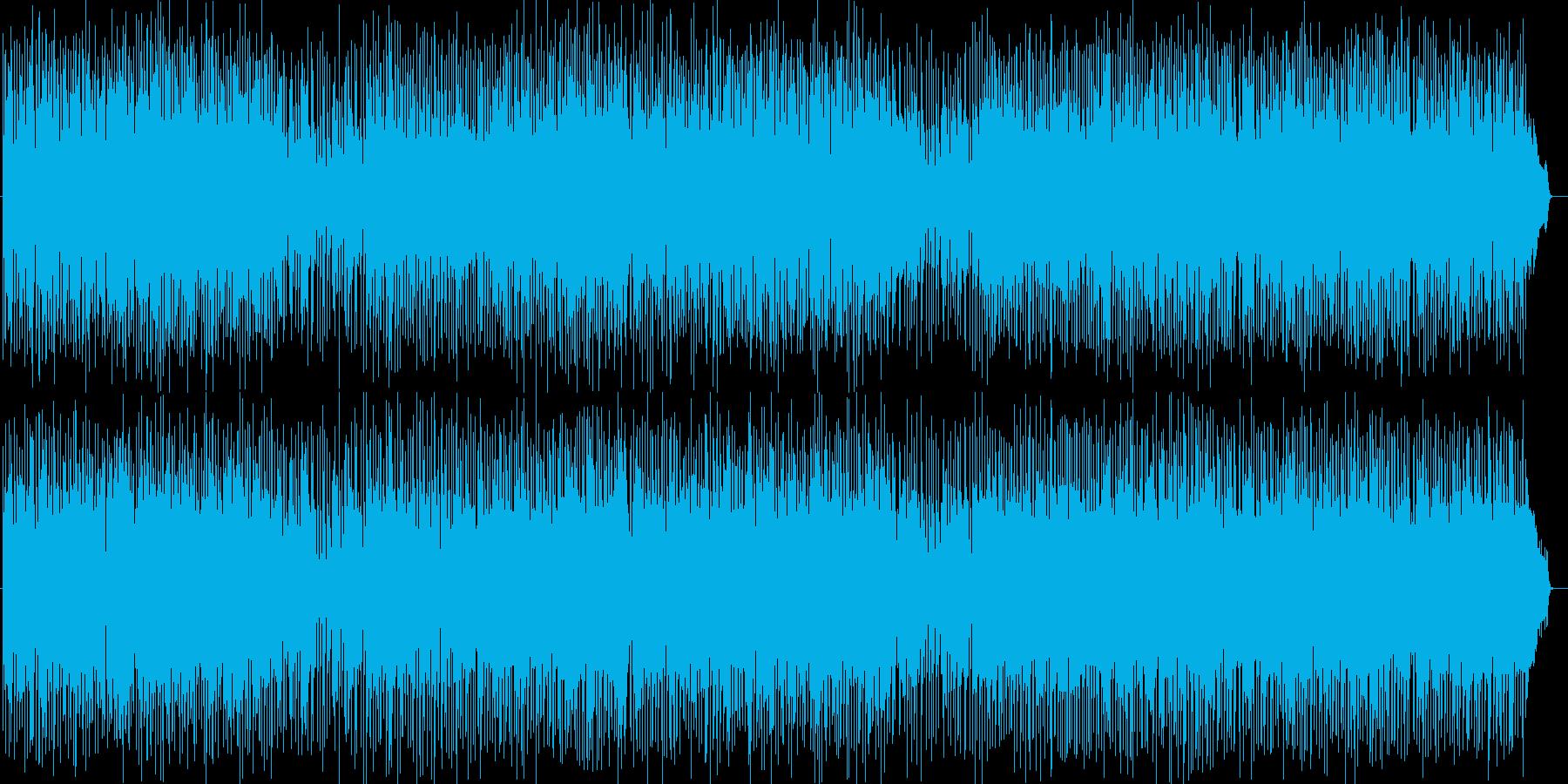 爽快な走りのようなシンセサイザーポップの再生済みの波形