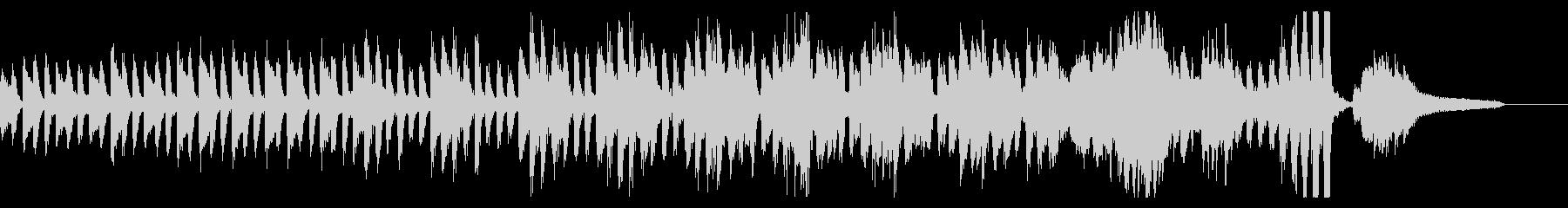 KANT混乱の雰囲気を出すピアノ曲の未再生の波形