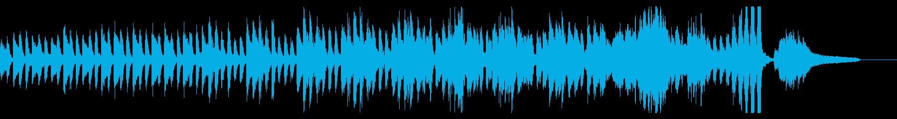 KANT混乱の雰囲気を出すピアノ曲の再生済みの波形