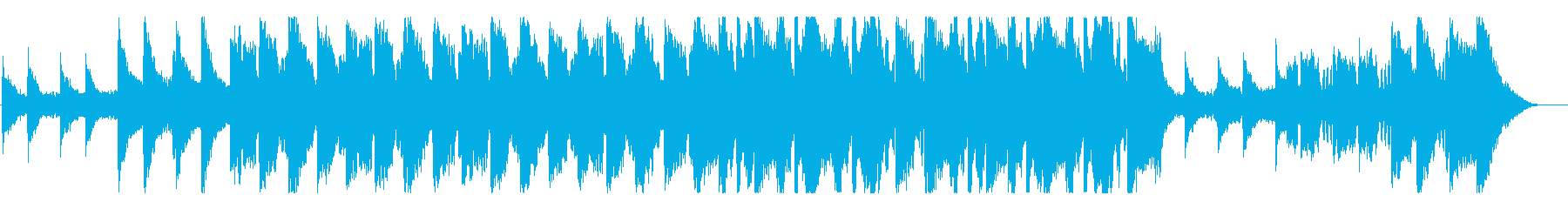 BGM of a beautiful melody with transparency's reproduced waveform