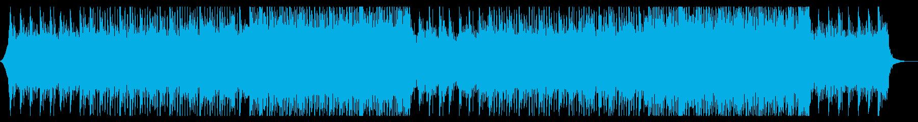 企業VP・爽やかな朝をイメージしたBGMの再生済みの波形