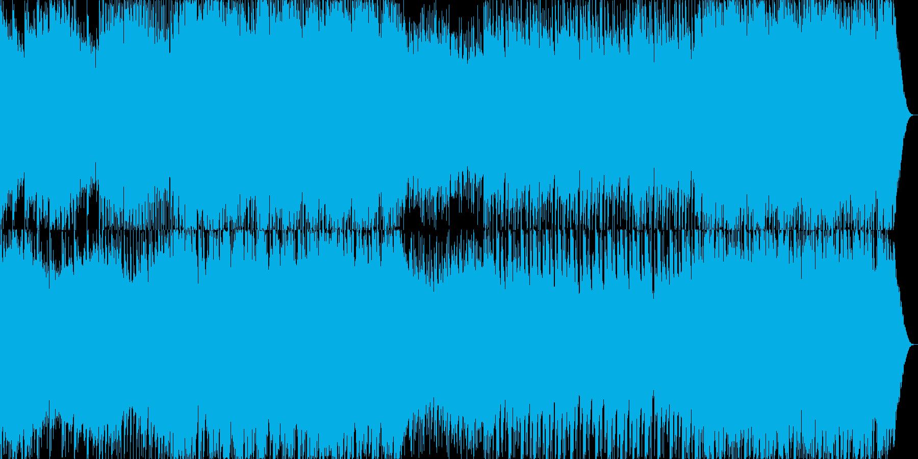 落ち着いた中に熱さのある正統派EDMの再生済みの波形