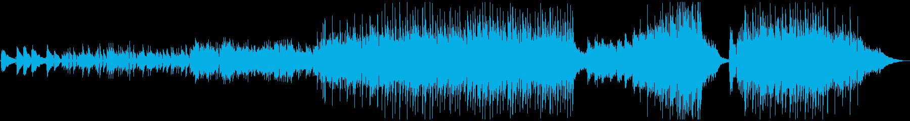 音響機器反射的で希望に満ちたテーマ...の再生済みの波形