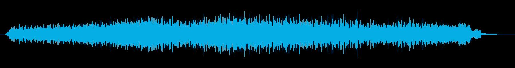 素材 逆ドローンフィードバック01の再生済みの波形