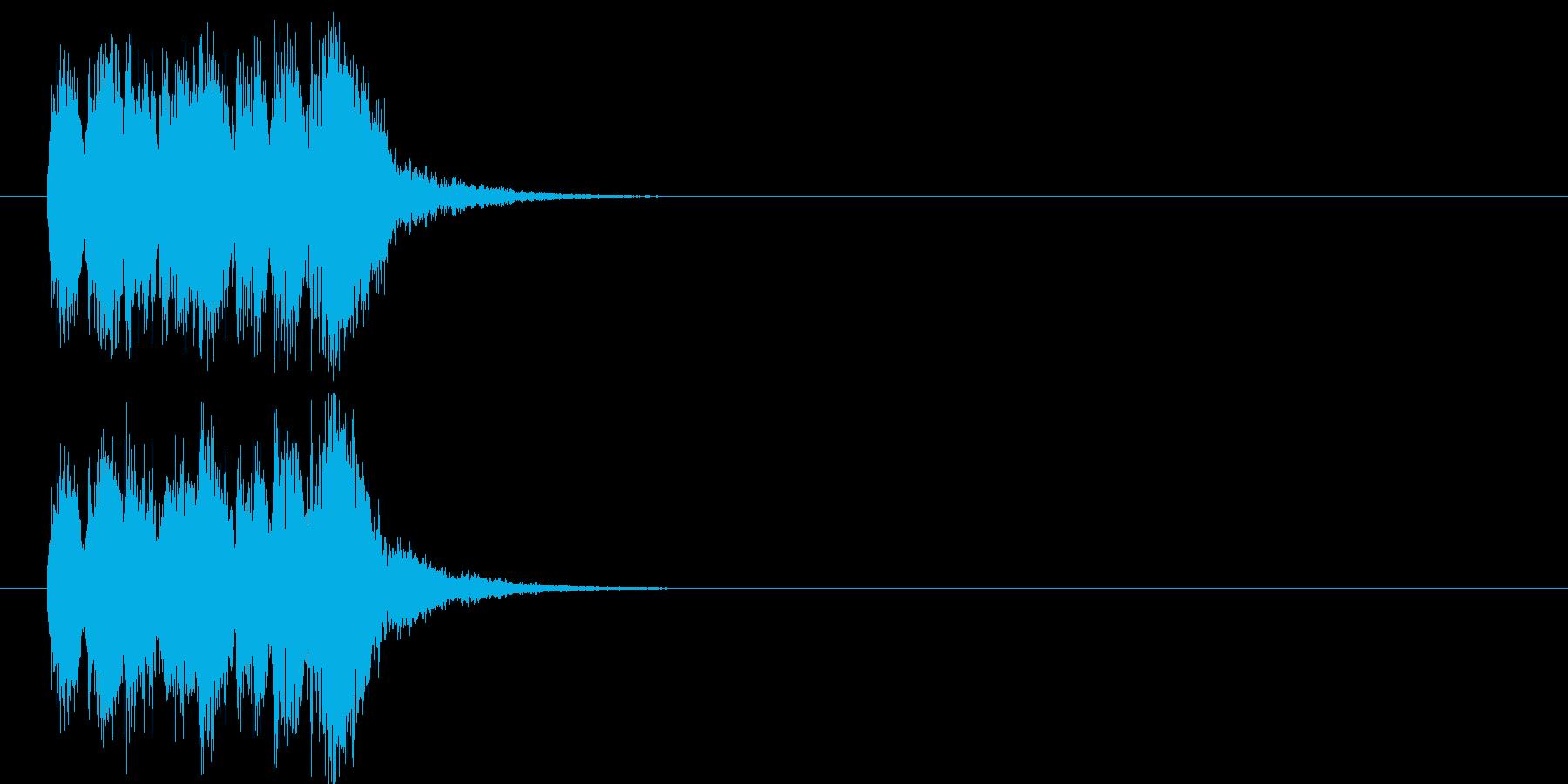 アタック 報道 サスペンス 緊張 不安の再生済みの波形