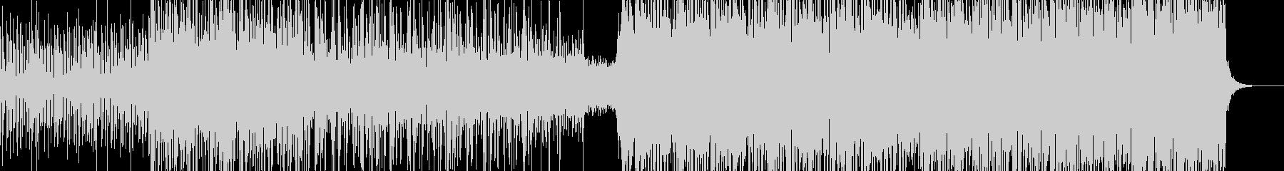 作戦会議の様な雰囲気のあるデジタル曲の未再生の波形