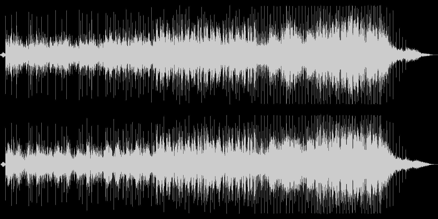 アコースティックチルアウト音楽の未再生の波形