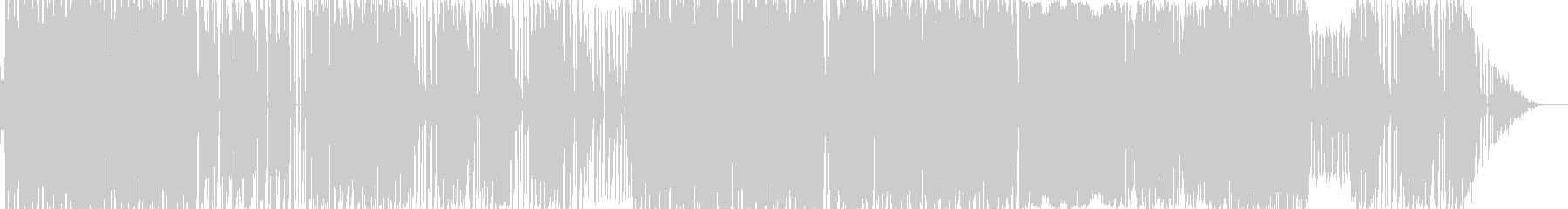 kawaii Future Bass の未再生の波形