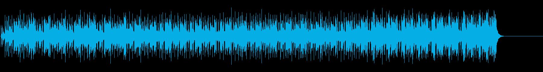 初々しい歌謡曲調モータウン風ポップの再生済みの波形