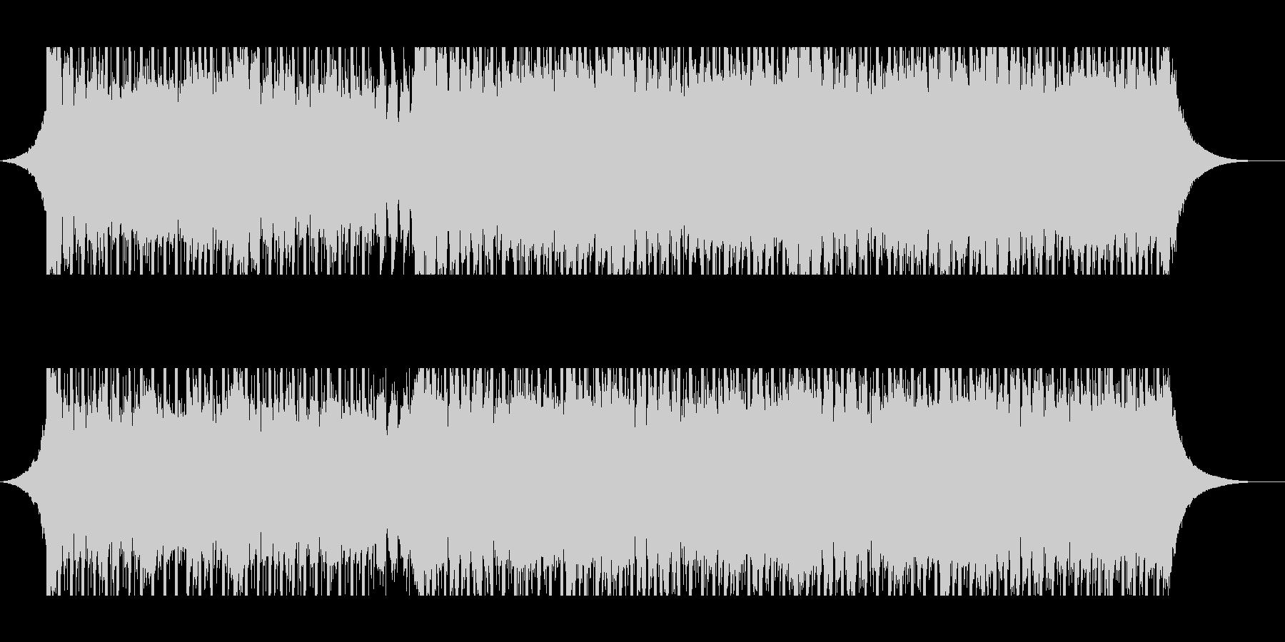 ベンチャー(中)の未再生の波形
