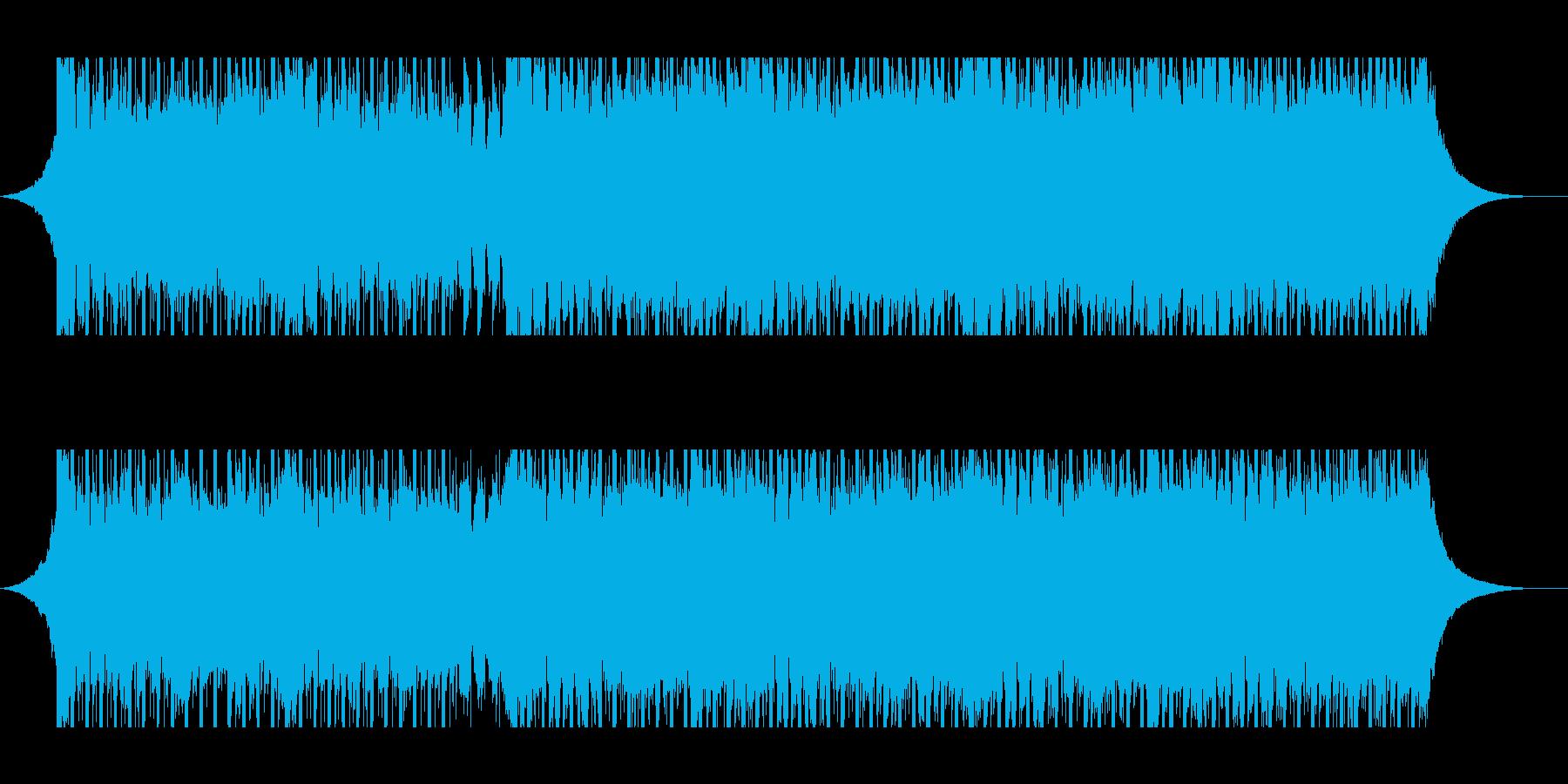 ベンチャー(中)の再生済みの波形
