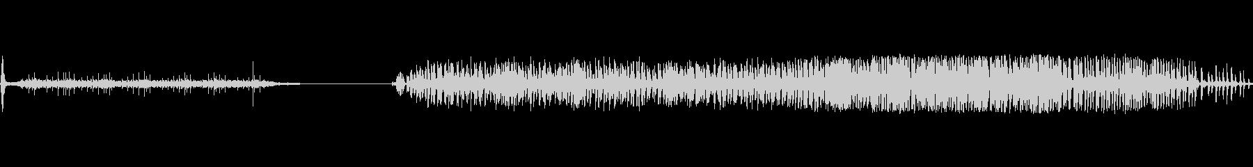 マシンペイントミキサーガラガラbの未再生の波形