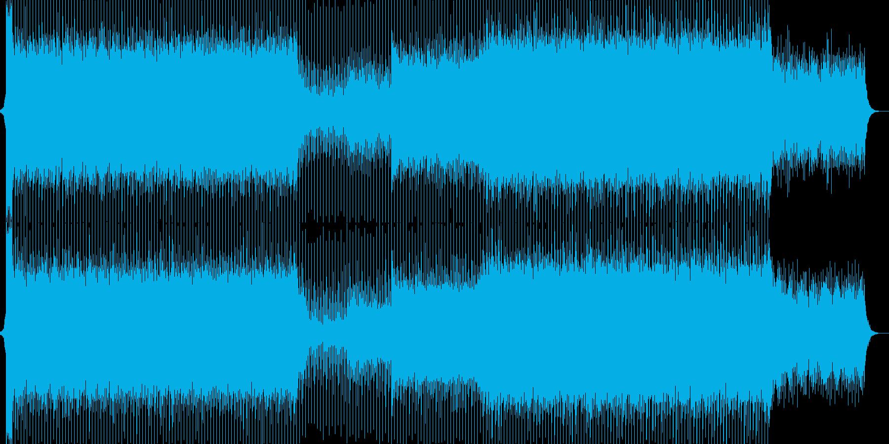 EDM明るいクラブ系キラキラシンセ-02の再生済みの波形