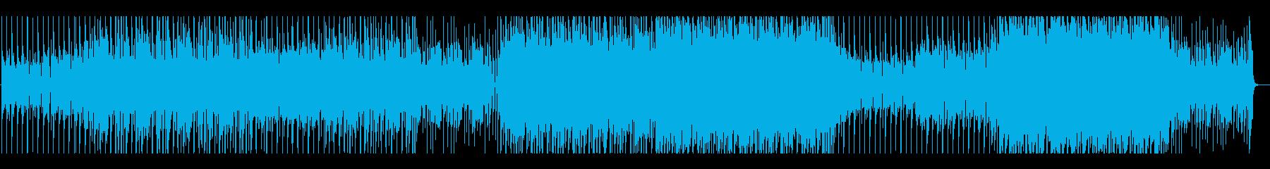 スタイリッシュ×生ギター×EDMの再生済みの波形