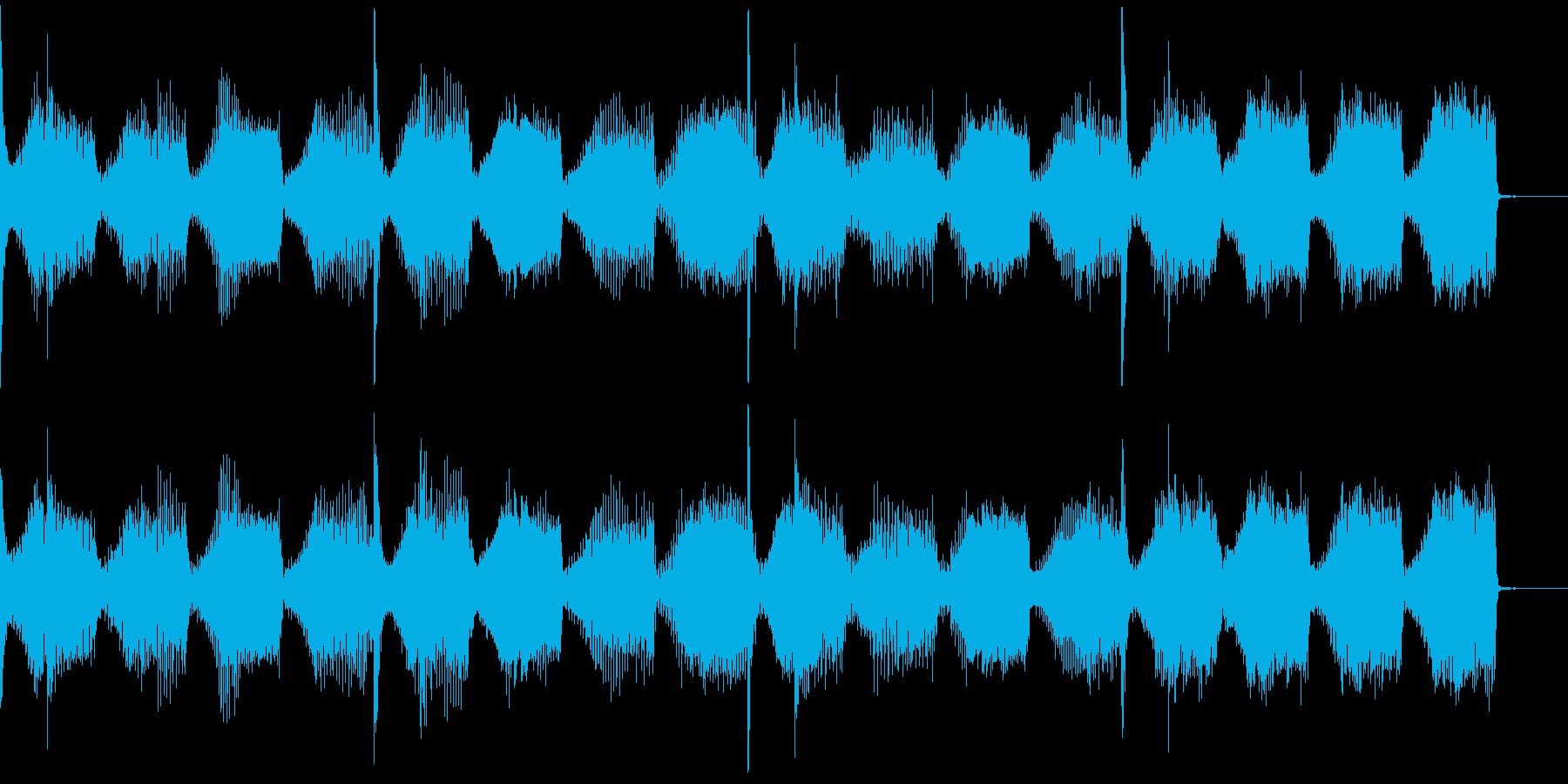 【フューチャーベース】ロング2ショート2の再生済みの波形
