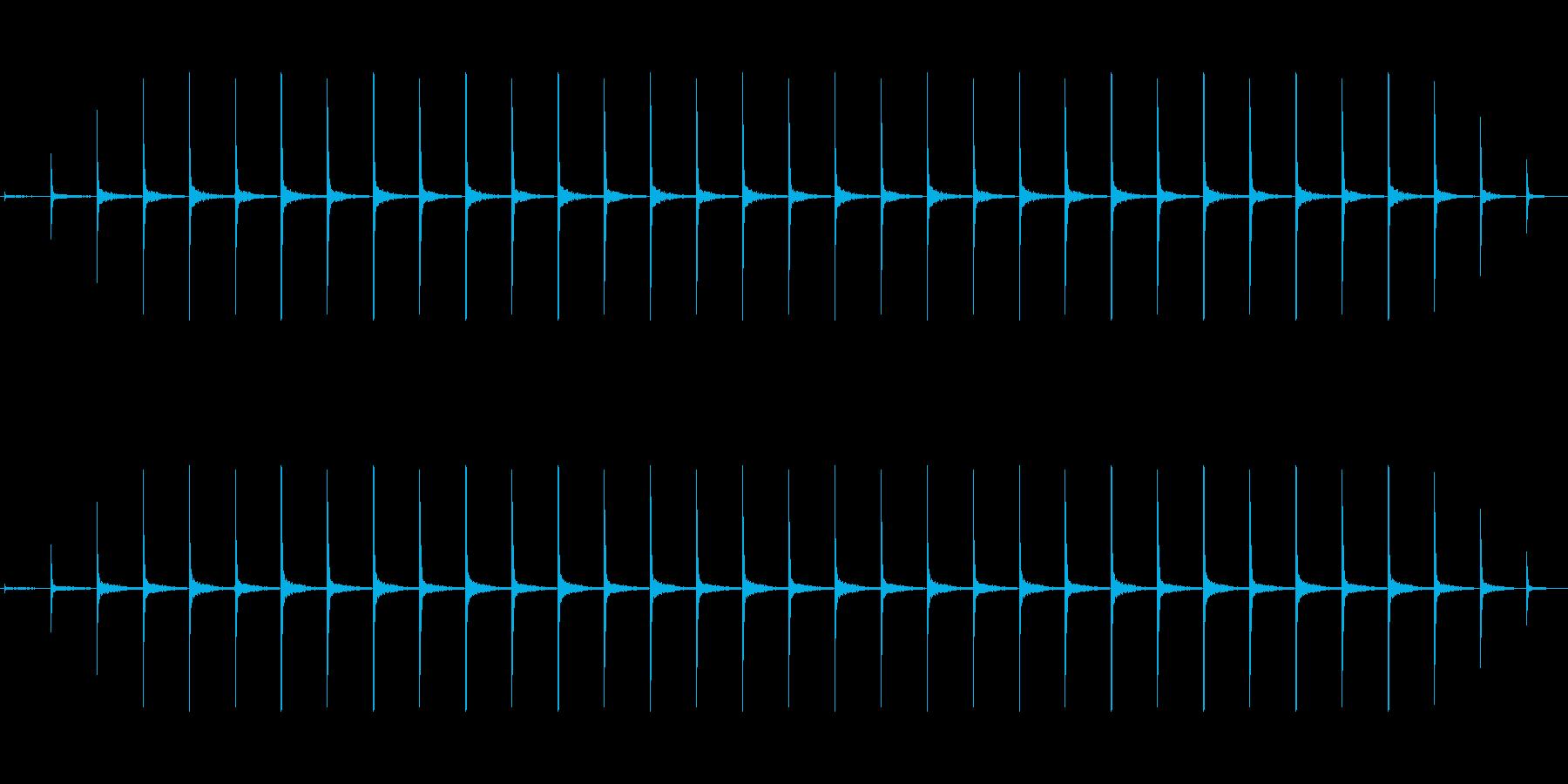 時計 ticktock_24-1_revの再生済みの波形