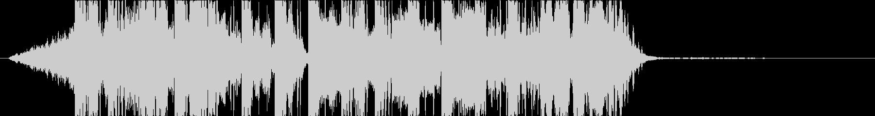 DUBSTEP クール ジングル156の未再生の波形