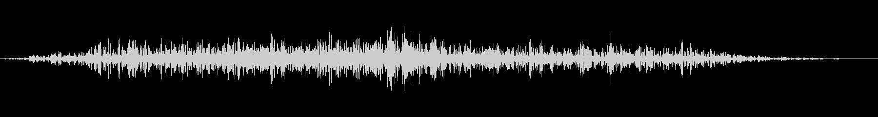 ヒューヒュー 24の未再生の波形