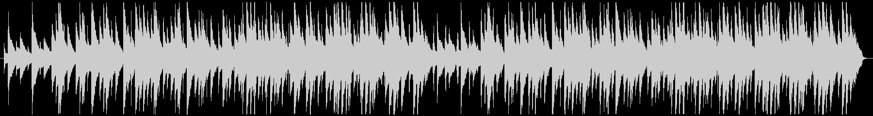 テープ録音風ピアノアンサンブルの未再生の波形