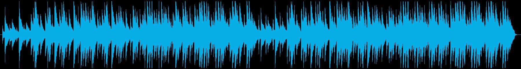 テープ録音風ピアノアンサンブルの再生済みの波形