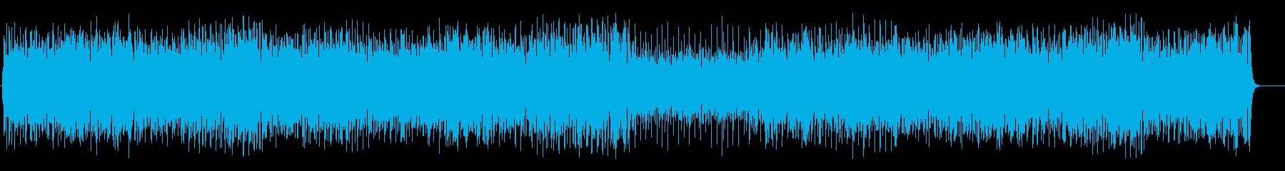 パーカッシブなラテンマイナーフュージョンの再生済みの波形