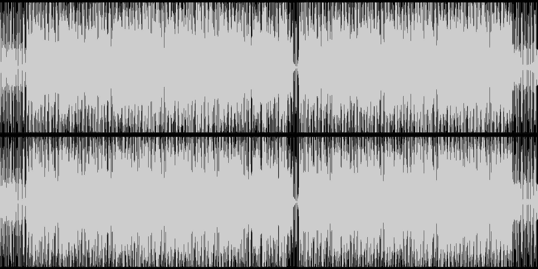 【雨音なし・ループ対応】ヒーリングポップの未再生の波形