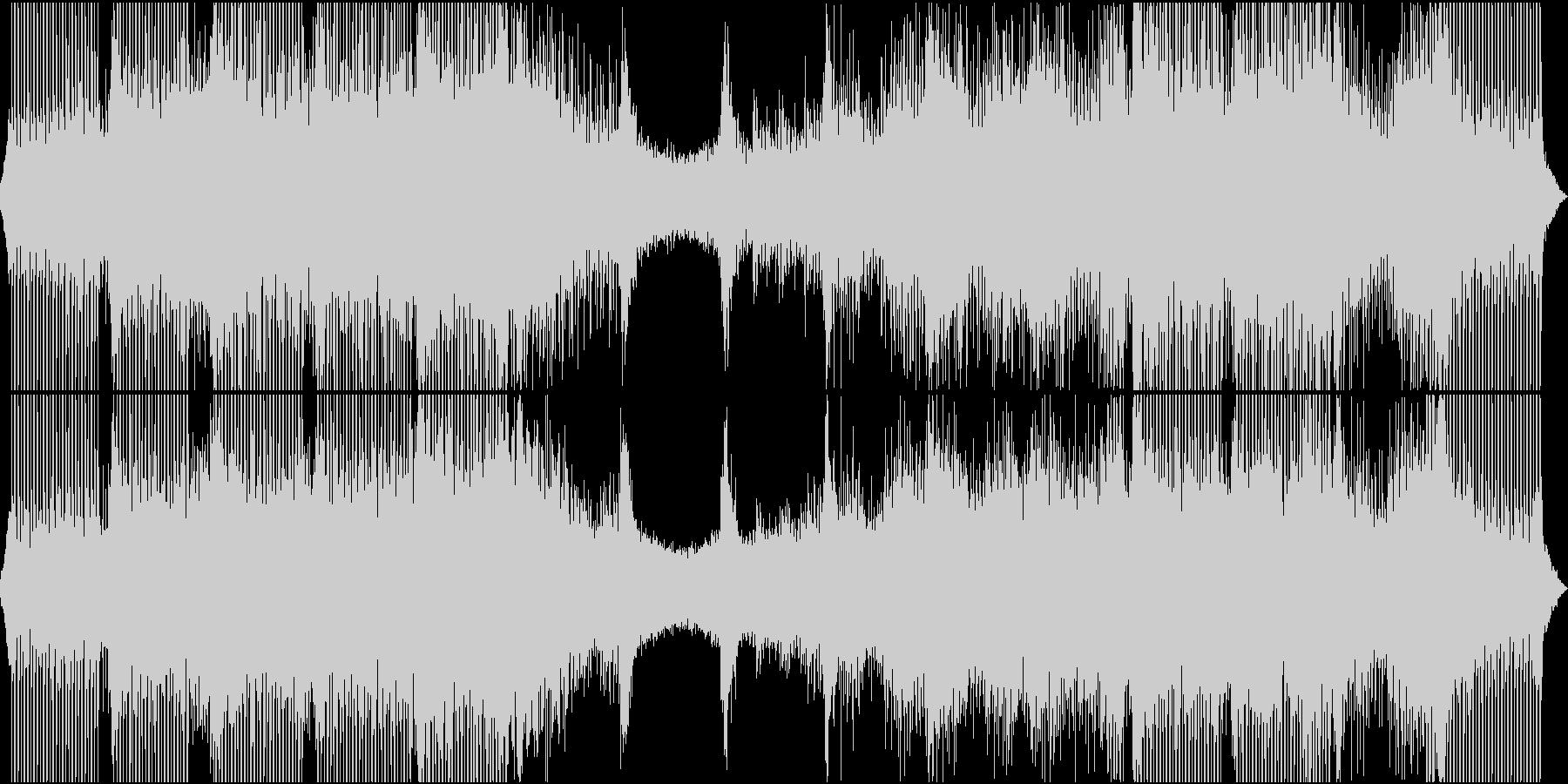 ポジティブでループ感のある曲の未再生の波形