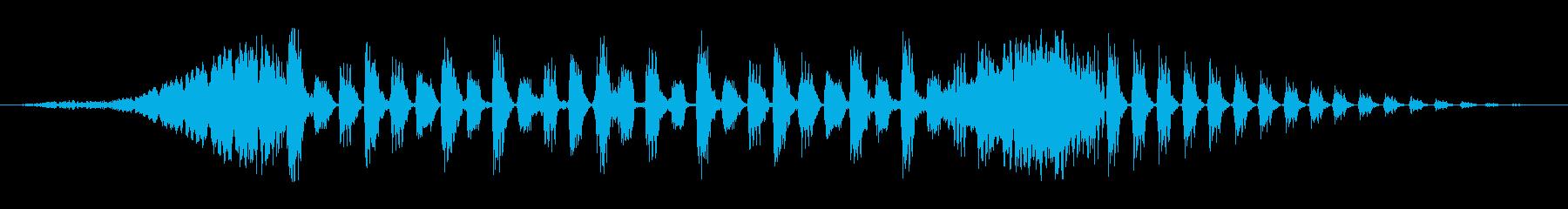 エレクトロアコースティックミュージ...の再生済みの波形