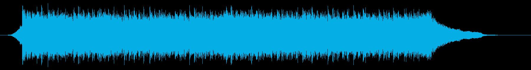 企業VP映像、121オーケストラ、爽快cの再生済みの波形