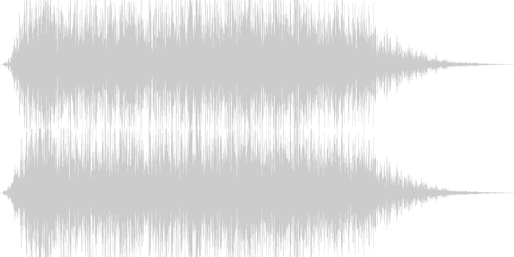 地震魔法(地割れ発生)の未再生の波形