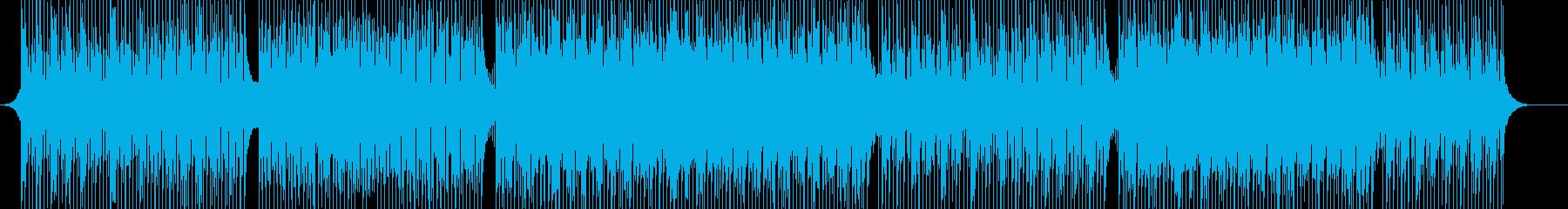 希望・開幕-爽やか-未来-前進-風-映像の再生済みの波形
